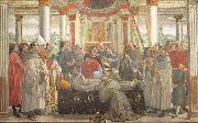 Domenico Ghirlandaio Obsequies of St.Francis painting